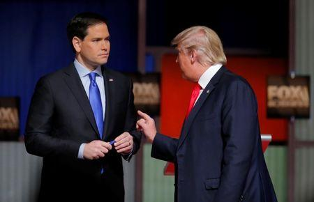 Trump, Rubio likely targets in eighth Republican presidential debate