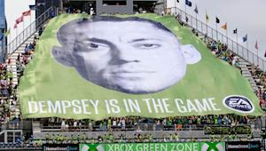 Clint Dempsey back in camp with Seattle Sounders, will be available for season opener