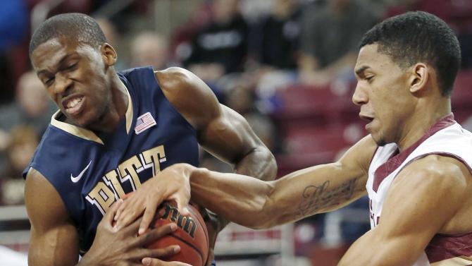 Pitt snaps losing skid; 66-59 over BC