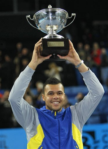 Tsonga beats Berdych in Open 13 final