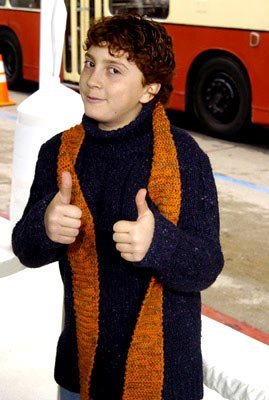 Daryl Sabara at the Hollywood premiere of Warner Bros. The Polar Express