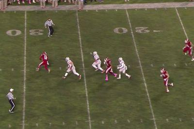 Indiana's upset bid of Ohio State was thwarted by this disastrous final play