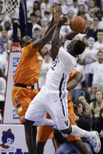 Villanova upsets No. 3 Syracuse 75-71 in overtime
