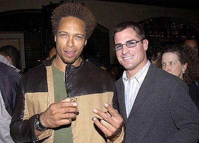 Premiere: Gary Dourdan and George Eads at the LA premiere of All About The Benjamins - 3/6/2002