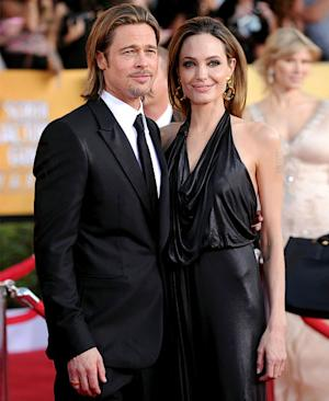 "Angelina Jolie on Brad Pitt Wedding: ""Maybe"""