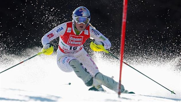 Points record for Vonn as Kirchgasser wins