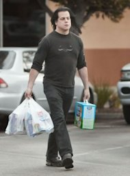 It's that time of the month for Glenn Danzig: kitty litter stock-up. (Bauer-Griffin)