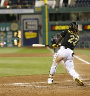 McCutchen homers in 12th as Pirates top Brewers