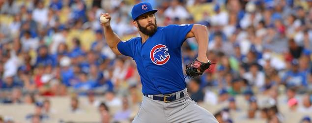 Cubs ace tosses no-hitter against Dodgers