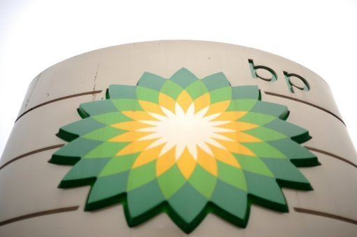 <p>The BP logo at a petrol station in central London pictured on February 1, 2011. British oil giant BP said on Wednesday that it had agreed to sell its stake in China's Yacheng gas field to the state-owned Kuwait Foreign Petroleum Exploration Company (KUFPEC) as part of a divestment programme.</p>
