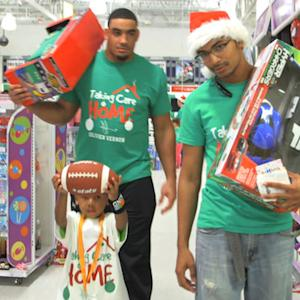 Dolphins give back for Christmas