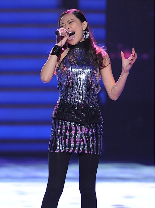 "Jessica Sanchez performs ""Love You I Do"" by Jennifer Hudson on """"American Idol."""