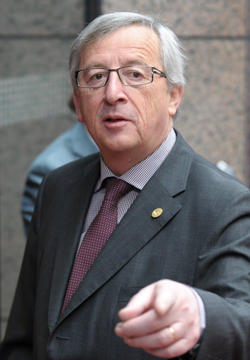 Luxembourg's PM Juncker arrives at a European Union leaders summit in Brussels
