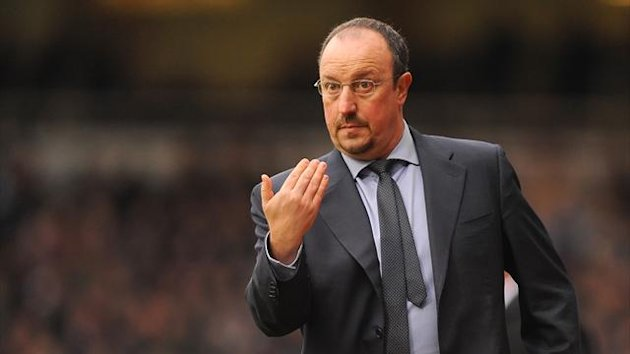Rafael Benitez says Chelsea are still in the race for the Barclays Premier League title