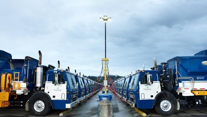 Progressive Waste Solutions Leads the Conversion to Natural Gas for Waste and Recycling Fleets in Canada