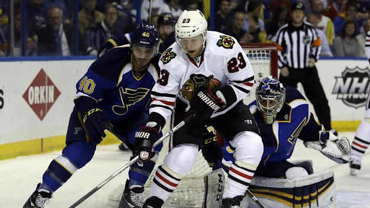Blackhawks scratch F Versteeg