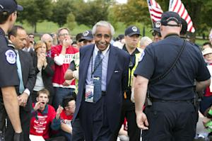 Rep. Charles Rangel, D-N.Y., is arrested by U.S. Capitol …