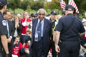 Rep. Charles Rangel, D-N.Y., is arrested by U.S. Capitol…