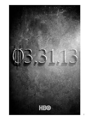 'Game of Thrones' Season 3 Teaser Poster Offers a Stony Hint of Things to Come