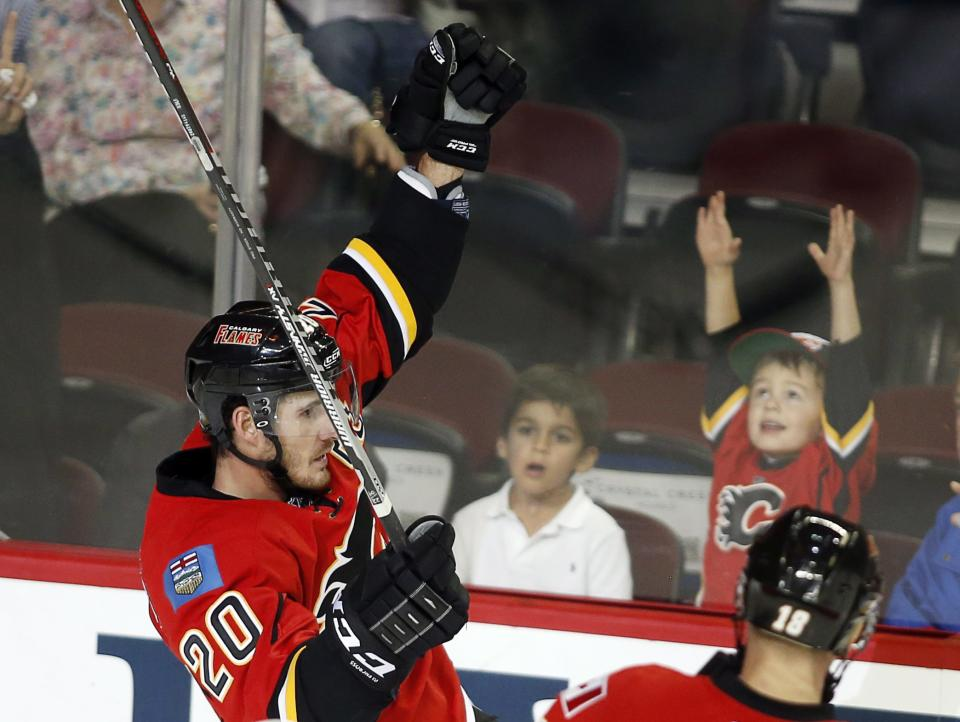Stajan, Ramos lead Flames over Rangers 4-1