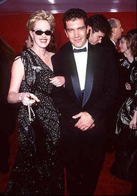 Melanie Griffith and Antonio Banderas 70th Annual Academy Awards Los Angeles, CA 3/23/1998