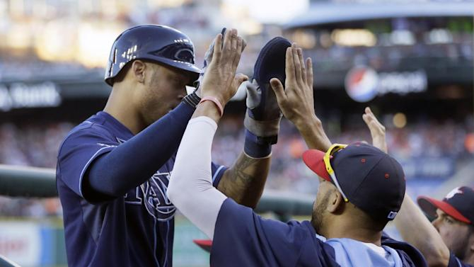 Rays use bats, bullpen to beat Tigers 6-3