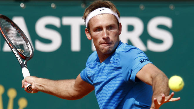 Poland's Lukasz Kubot Hits AFP/Getty Images