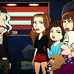 Steven Tyler Steals Animated 'Hot in Cleveland'
