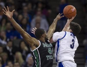 Jones leads No. 15 Creighton in 77-60 win over UAB