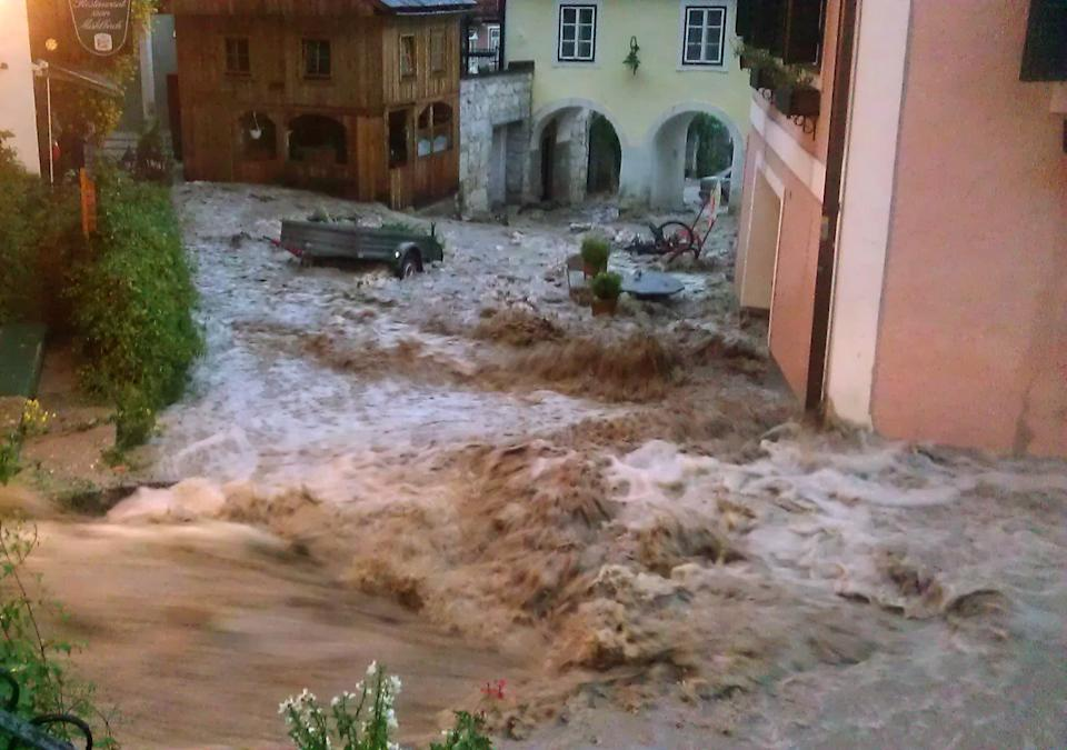 Flood damages Austrian UNESCO heritage site