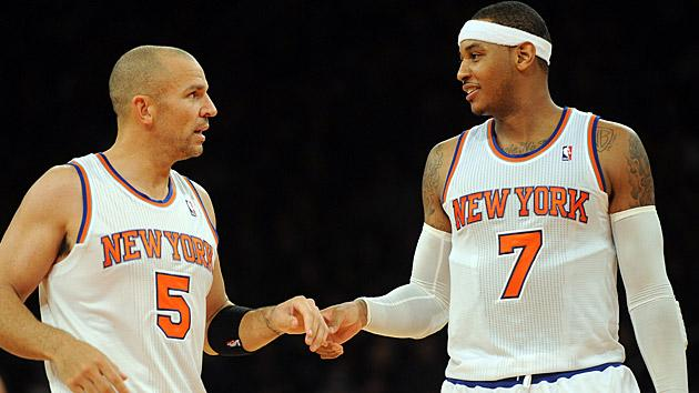 Jason Kidd, Carmelo Anthony