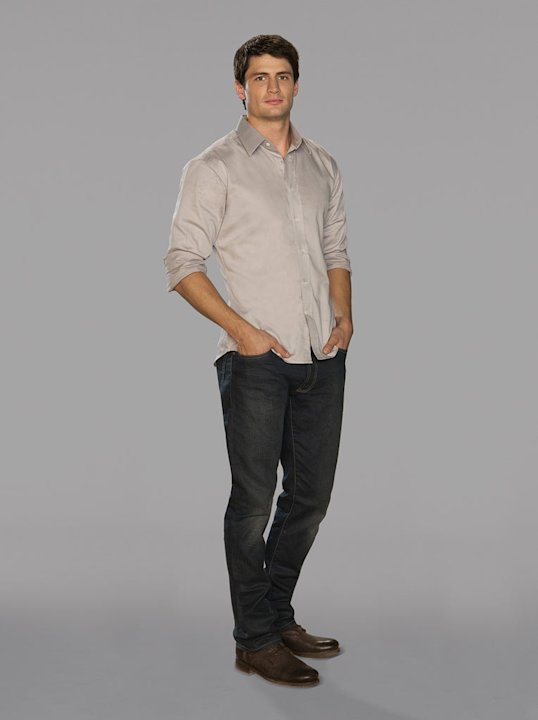 "James Lafferty as Nathan Scott in ""One Tree Hill."""