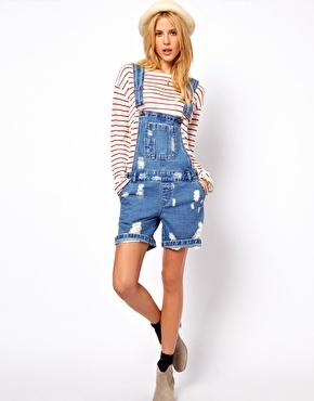 ASOS Denim Dungaree Wash