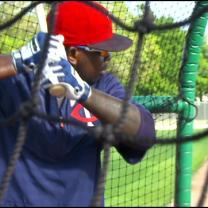 Torii Hunter Trains With Twins In Fort Myers