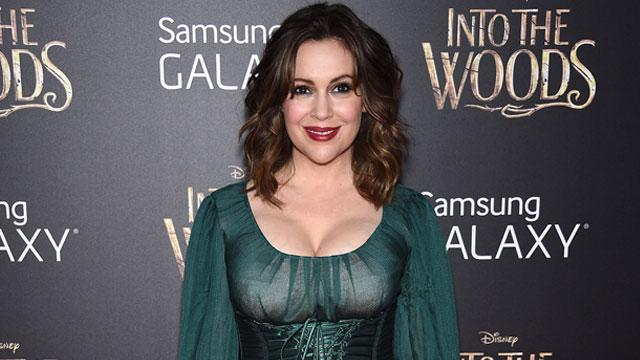 Alyssa Milano Says She Loves Her Stretch Marks