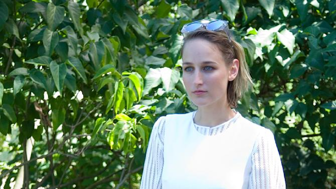 US actress Leelee Sobieski poses during a photocall before French fashion house Christian Dior Haute Couture Fall Winter 2015/2016 show in Paris