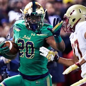Notre Dame RB C.J. Prosise out for game (ankle)