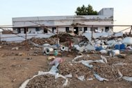 A fireworks factory in Sivakasi, southern India, is littered with debris after a huge blaze set of an explosion on September 5. Indian police arrest six people and are hunting for the boss of a fireworks factory where 38 people were killed in a blaze that highlighted the industry's lax safety standards