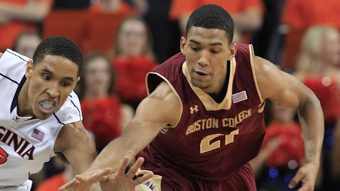No. 20 Virginia handles Boston College 77-67