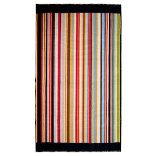 Multistripe Trim Luxury Beach Towel Paul Smith