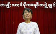 Myanmar pro-democracy leader Aung San Suu Kyi (pictured in April) will visit Bangkok next week on her first trip overseas in more than two decades, according to her party