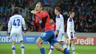 Viktoria Plzen secured a dramatic late win over CSKA Moscow (AFP)