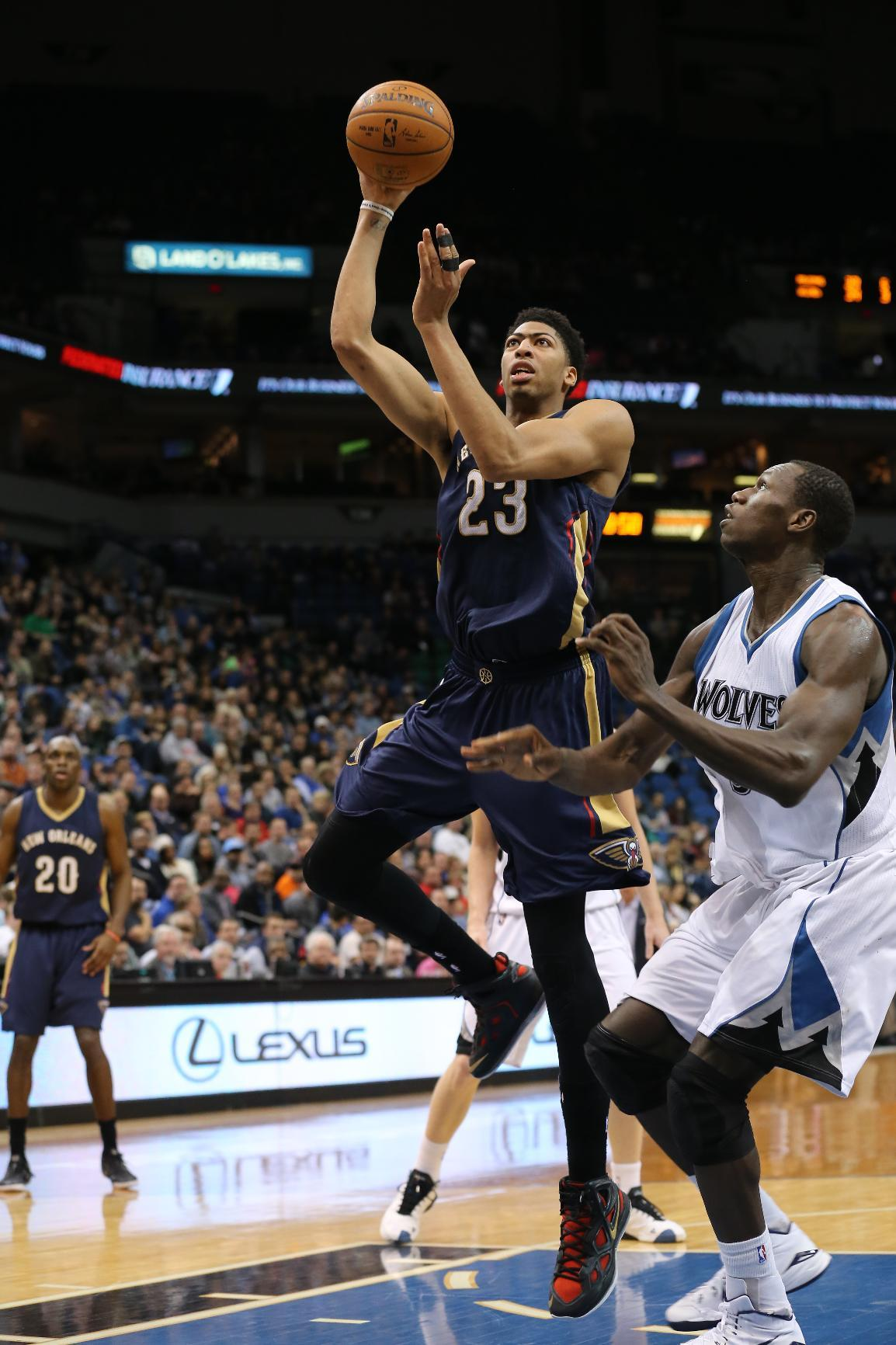 Davis, Pelicans grind out win over Timberwolves, 92-84