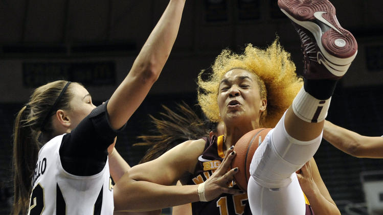 NCAA Womens Basketball: Minnesota at Purdue