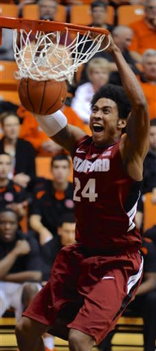 Stanford beats Oregon State 82-72