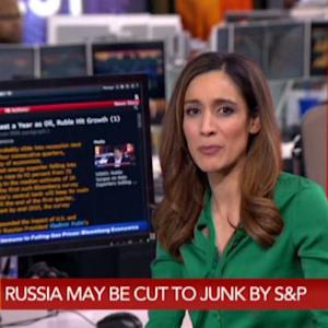 Russia May Be Cut to Junk by S&P