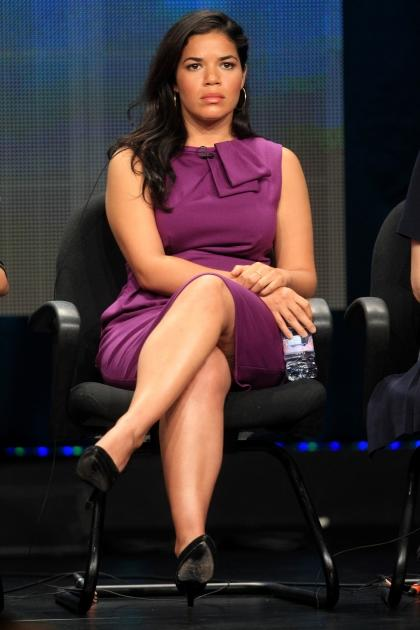 America Ferrera speaks onstage at the 'Half the Sky, a Special Presentation of Independant Lens' panel during day 2 of the PBS portion of the 2012 Summer TCA Tour held at the Beverly Hilton Hotel on July 22, 2012 -- Getty Images