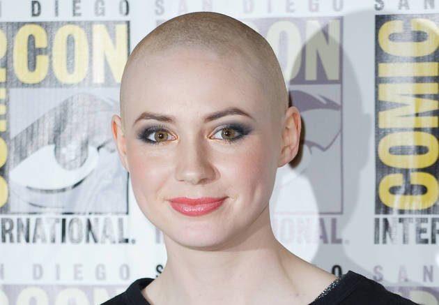 Karen Gillan shaves her head!