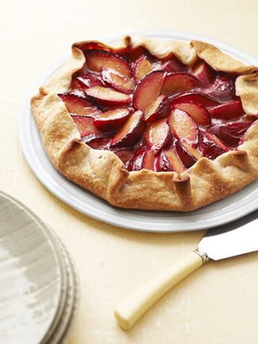 Easy Plum Tart