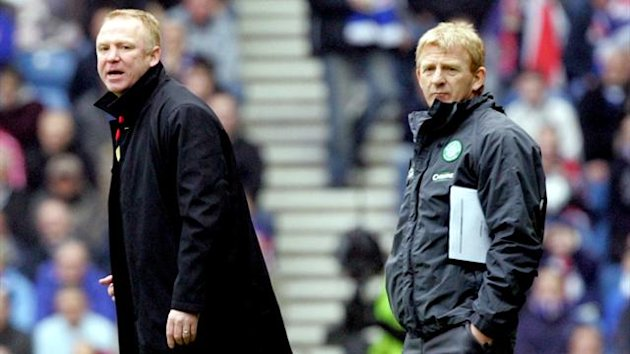 Alex McLeish, Gordon Strachan (Reuters)